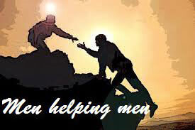 Man Helping a Man